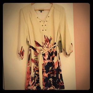 Luxology dress with long sleeves